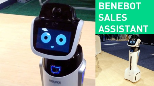 Benebot – The robot that could replace retail staff | #CES2015