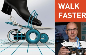 Double your walking speed – Rollkers | #CES2015