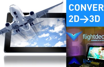 Freevi Flightdeck – A tablet that converts 2D videos to 3D | #CES2015