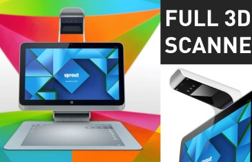 HP Sprout 3D Scanning Demo | #CES2015