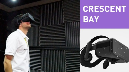 I just tried the Oculus Crescent Bay and it was amazing | #CES2015