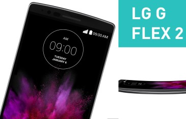 LG G Flex 2 First Look | #CES2015