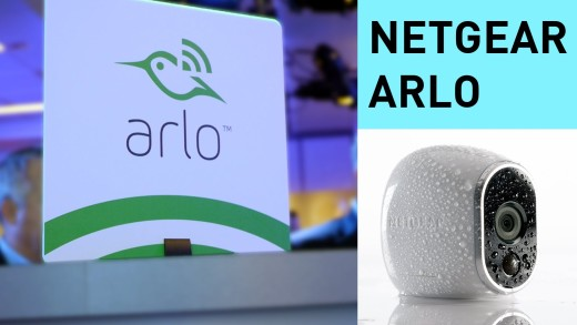 Netgear Arlo – 100% Wireless Smart Home Camera | #CES2015