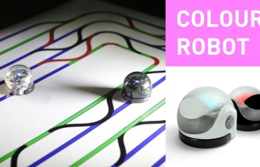 Ozobot – The colour sensing robot | #CES2015