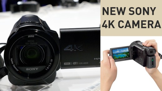 Sony's new 4K camera is now 1K | #CES2015