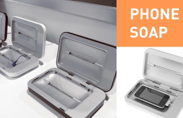 This one's for the germaphobes – PhoneSoap | #CES2015