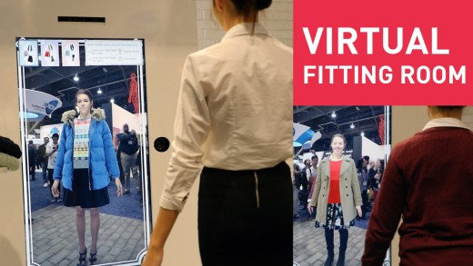 Toshiba's Virtual Fitting Room – First Look | #CES2015