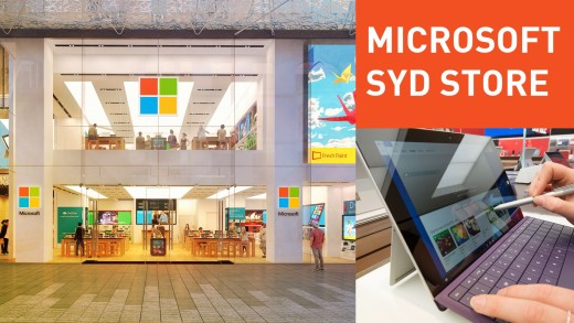 Inside Microsoft's new Sydney Flagship Store